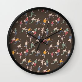hurry up! Wall Clock