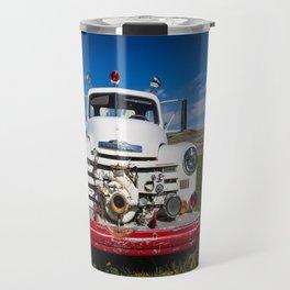 Old Fire Engine Travel Mug