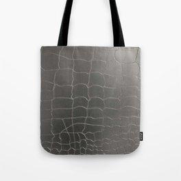 Crocodile silver skin Tote Bag