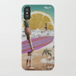 Sweet Surfing iPhone Case
