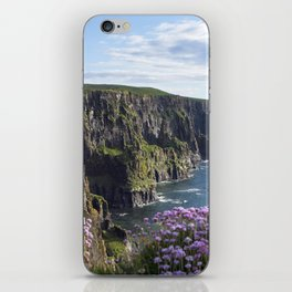 Sea Pink On The Cliffs iPhone Skin