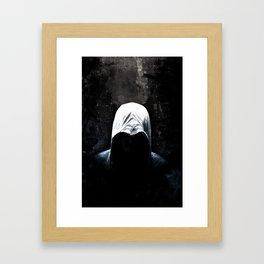 Native Assassin Hood - Color Framed Art Print