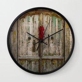 Old Ristra Door Wall Clock
