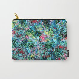 Abstract Floral Chaos Carry-All Pouch