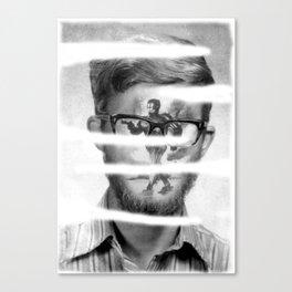 Shredded Robo Cop Canvas Print