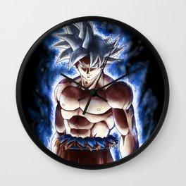 Goku ultra instinct - Selfish doctrine Wall Clock