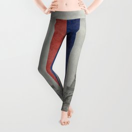 Eiffel tower with French flag Leggings