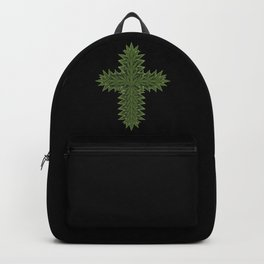 Weed Cross - Marijuana THC CBD Stoner Backpack