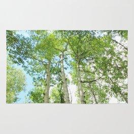 Aspen Trees Rug