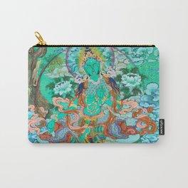Green Tara Carry-All Pouch