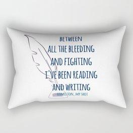 READING AND WRITING | HAMILTON Rectangular Pillow