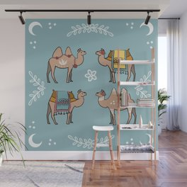 Camel Beauty Contest Mandala Wall Mural