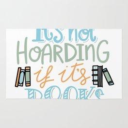 Hoarding Books Summer Colors Rug