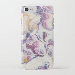 Purple parchment iPhone Case