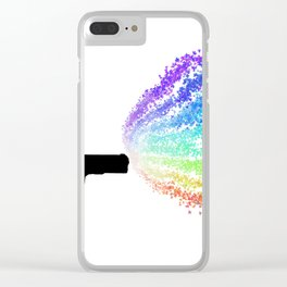 Fight With Love Clear iPhone Case
