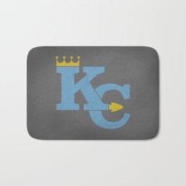 Kansas City Sports Light Blue Bath Mat
