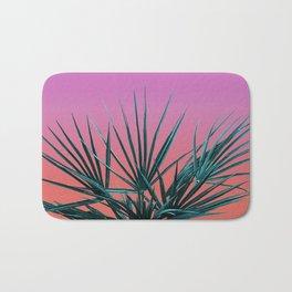 Pink Palm Life - Miami Vaporwave Bath Mat