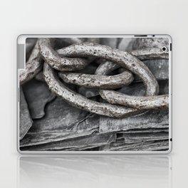 Vintage Chains and Slate Laptop & iPad Skin