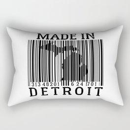 MADE IN DETROIT Bar Code Rectangular Pillow
