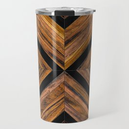 Urban Tribal Pattern 3 - Wood Travel Mug