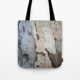 Bark Of A Eucalyptus Tree  Tote Bag