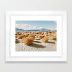 Paiute Land Framed Art Print