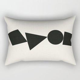 Shape Shifter Rectangular Pillow
