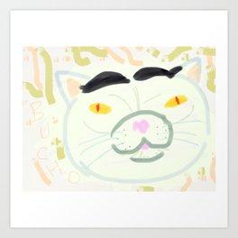 Mignon chat ♥ Art Print