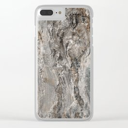 Coast of Maine Rocks, No.3 Clear iPhone Case