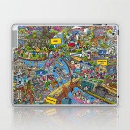 Illustrated map of Berlin Laptop & iPad Skin