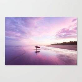 Mudjimba Surf Sunset Canvas Print