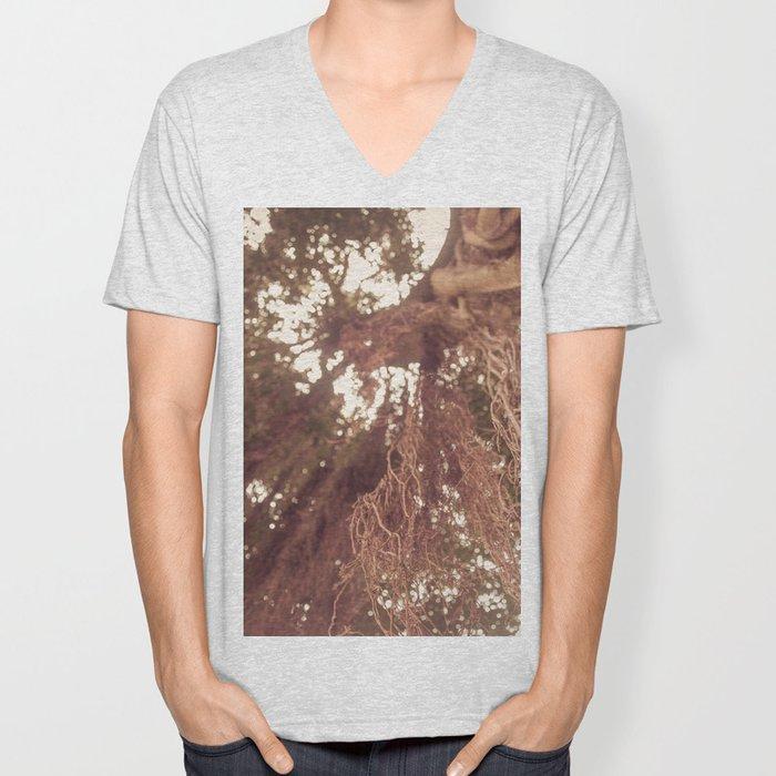 forest tree Unisex V-Neck