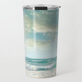 beach love tropical island paradise Travel Mug