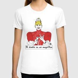 El diablo es un magnífico T-shirt