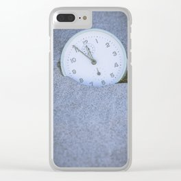 Five to Twelve Clear iPhone Case