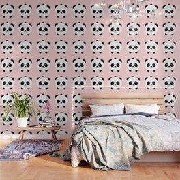 Lovely kawai panda bear Wallpaper