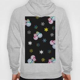Snowflakes & Pair Snowman_E Hoody