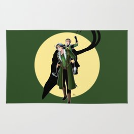 Our favorite Lokis! Rug