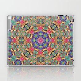 Stained Glass Mandala Laptop & iPad Skin