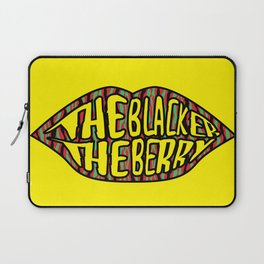 The Blacker the Berry Tribe called quest Laptop Sleeve