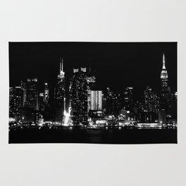 NYC sky line Rug