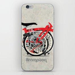 Brompton Bike iPhone Skin