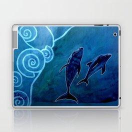 MELUSINA SEA DOLPHINS Laptop & iPad Skin
