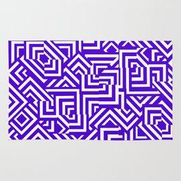 Graphically Purple Rug