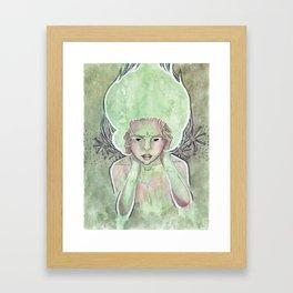 Sea Nymph Framed Art Print