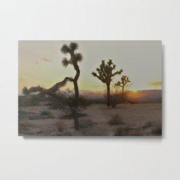 The Desert Metal Print