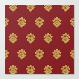 Free Marches (Red) Canvas Print