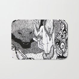 Bear Bride Bath Mat