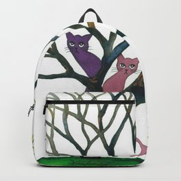 Maryland Whimsical Cats in Tree Backpack