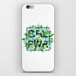 GRL PWR iPhone Skin